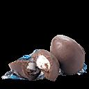 """Se para o paladar de muitos adultos a combinação de marshmallow com chocolate é enjoativa, estes jurados acharam que o chocolate – de casca grossa – quebrou a doçura do mashmallow. """"Gostoso, com muito marshmallow""""; """"O chocolate quebra o doce""""."""