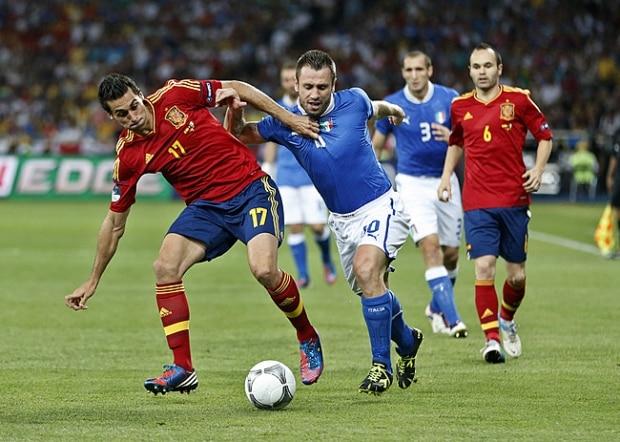 Veja fotos da final da Euro 2012 entre Espanha x Itália f9cc2044fd860